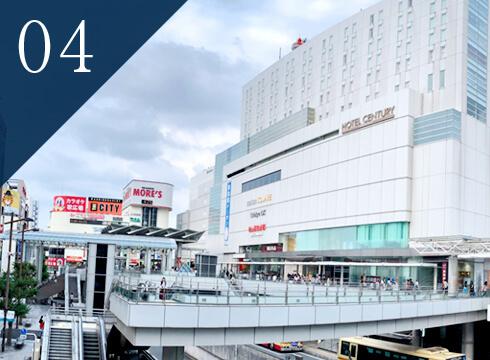 相模大野駅北口から徒歩2分 駐車場もご利用可能です